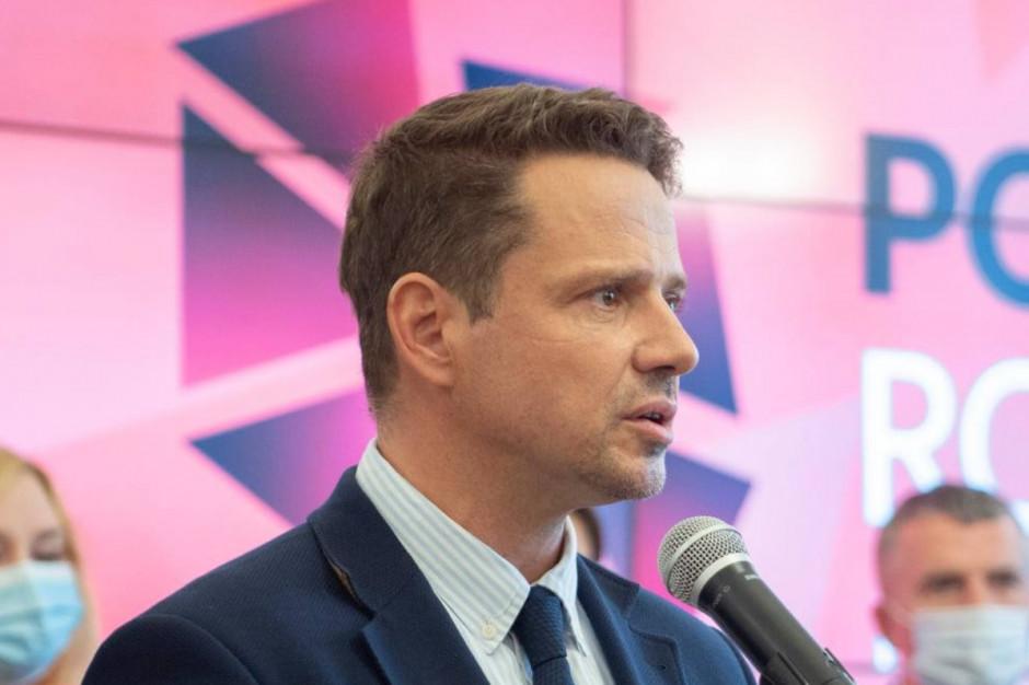 Trzaskowski: Stan wyjątkowy jest po to, byśmy nie wiedzieli, co się dzieje na granicy