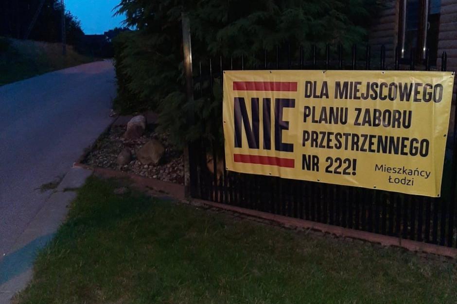 """Mieszkańcy Łodzi przeciw planowi przestrzennemu. Nazywają go """"zaborem"""""""