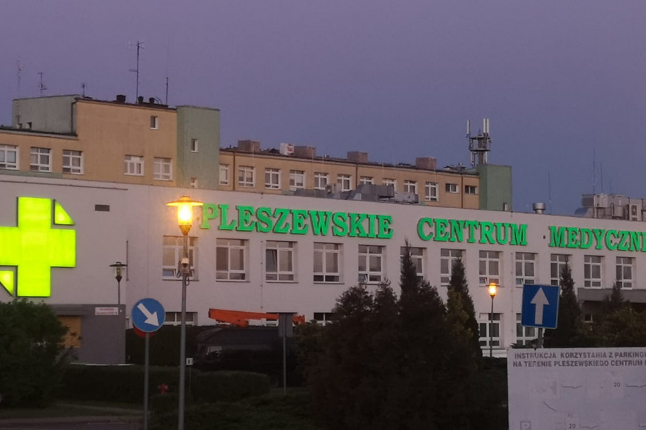 Szpital w Pleszewie zasilany energią z paneli fotowoltaicznych
