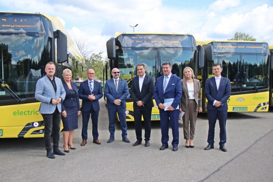 PKM Sosnowiec powiększył flotę autobusów elektrycznych. Będę jeździć w sześciu miastach regionu