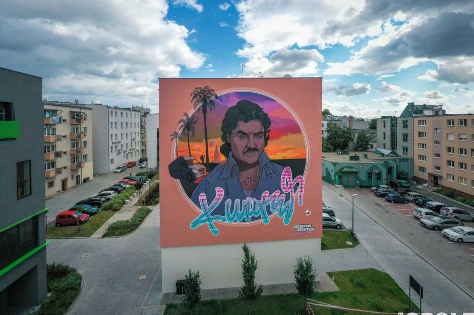 Mural pamięci Krzysztofa Krawczyka powstał w Opolu