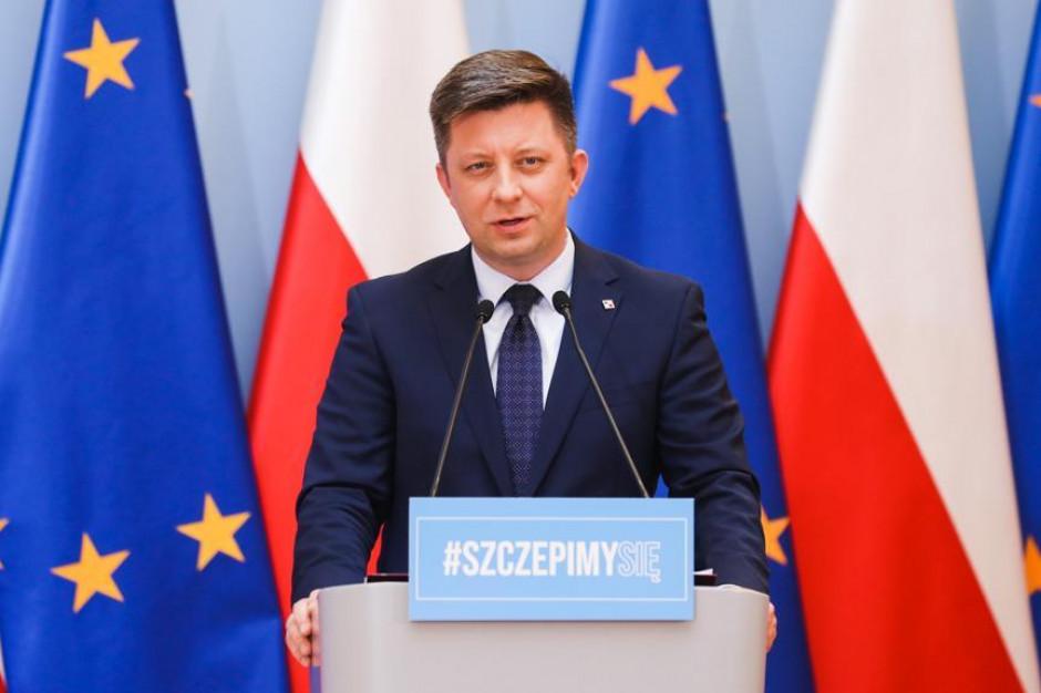 Dworczyk: Nie ma mowy o wstrzymaniu środków z UE dla Polski