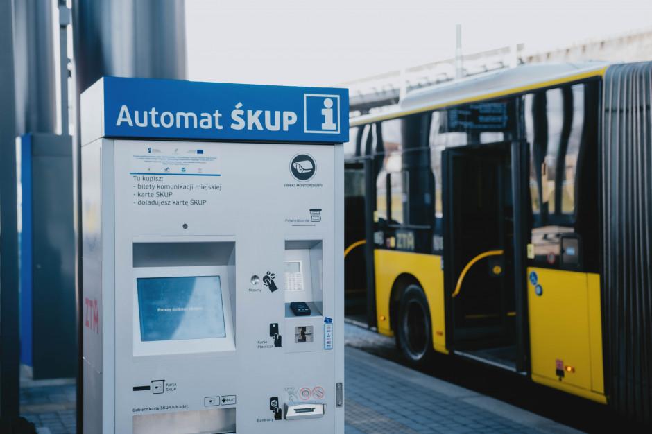 W Górnośląsko-Zagłębiowskiej Metropolii przybędzie biletomatów