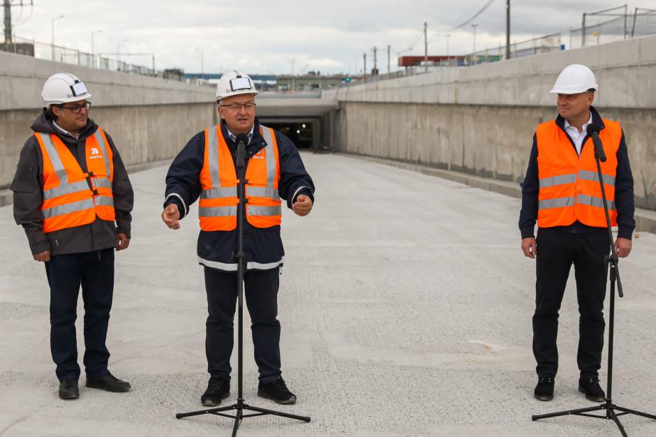 Minister: tunel pod Świną to efekt determinacji rządu i samorządu