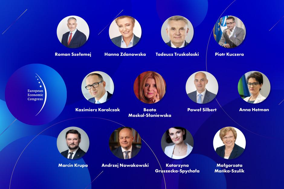 Znani samorządowcy w debatach Europejskiego Kongresu Gospodarczego