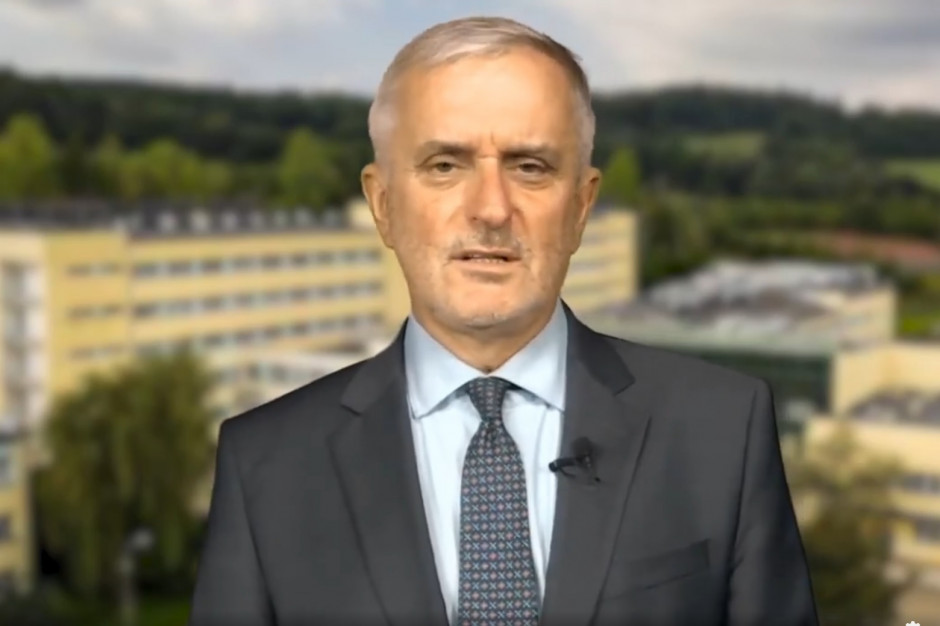 Szpital zwolnił prezydenta Wałbrzycha. Roman Szełemej: Wypowiedzenie to zemsta