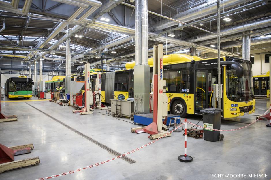 Przebudowano zajezdnię autobusową w Tychach