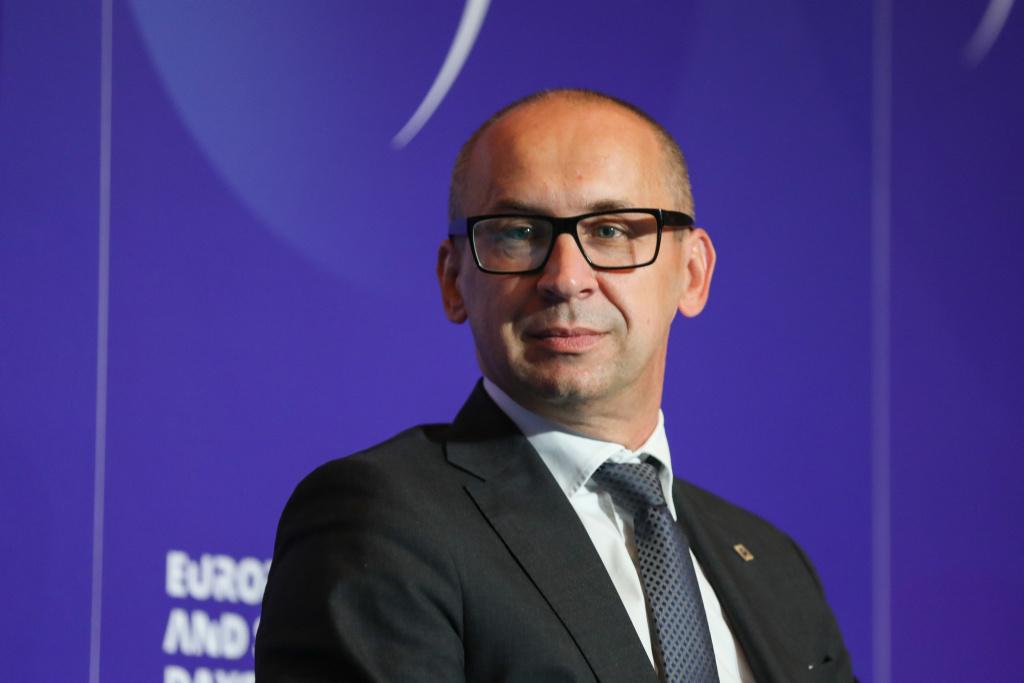 Kazimierz Karolczak, przewodniczący zarządu GZM. Fot. KZ / PTWP