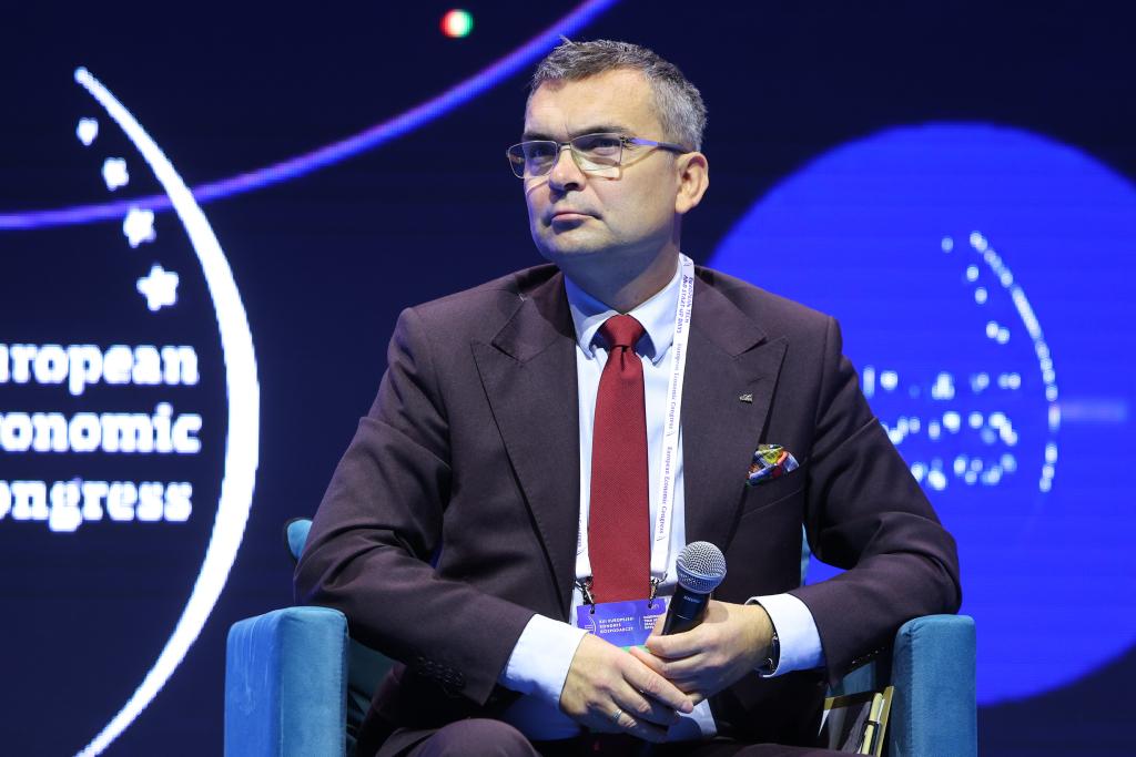 Marcin Różycki, wiceprezes Polskiej Organizacji Turystycznej Fot PTWP