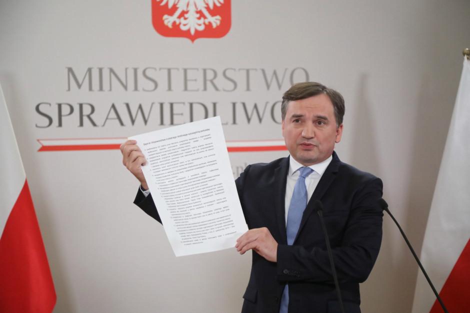 Zbigniew Ziobro do sejmików: Nie ulegajcie szantażowi UE