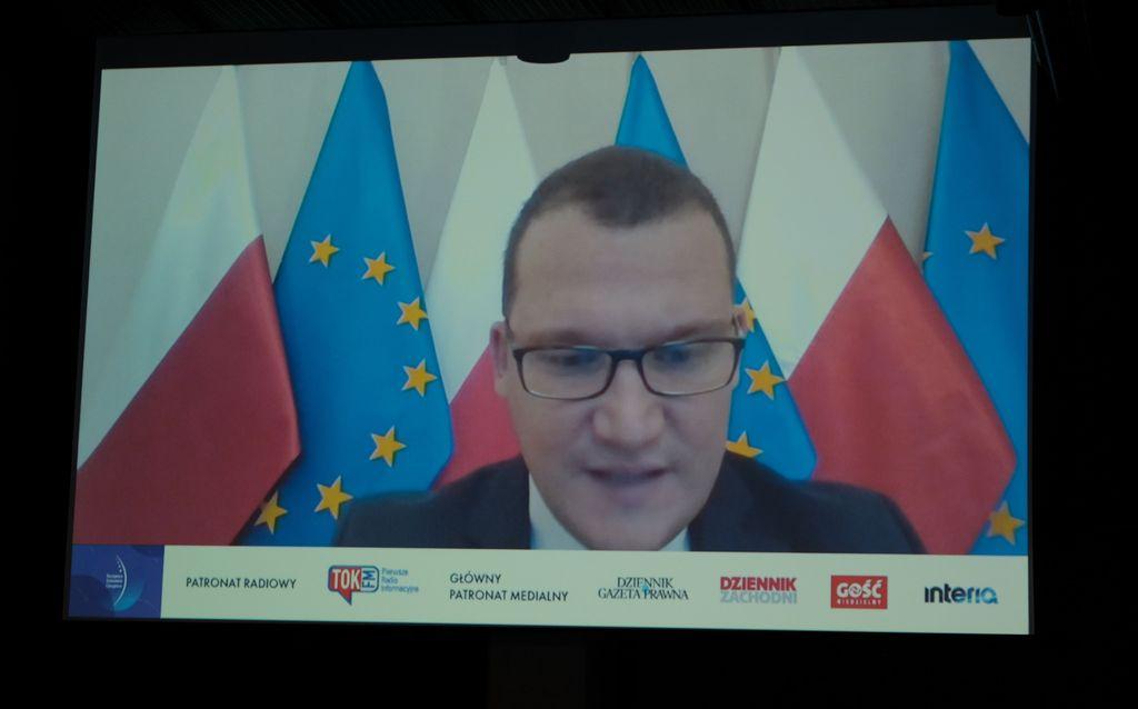 Paweł Szefernaker, sekretarz stanu w Ministerstwie Spraw Wewnętrznych i Administracji (fot. PTWP)