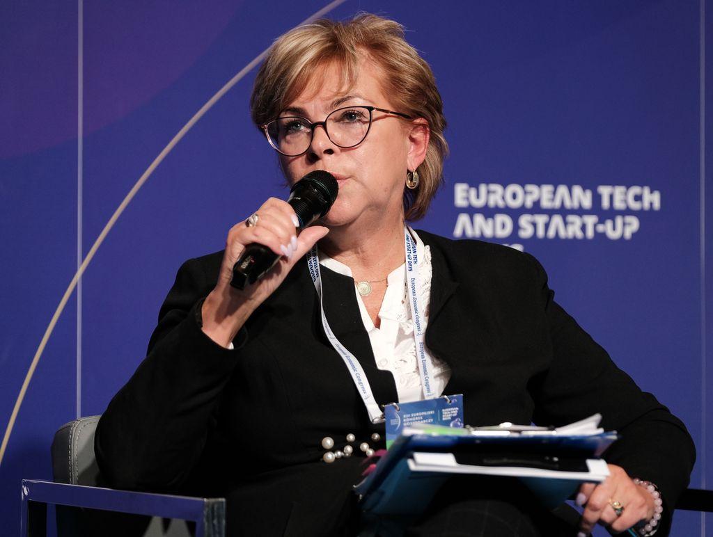 Danuta Lange, skarbik miasta Katowice (fot. PTWP)