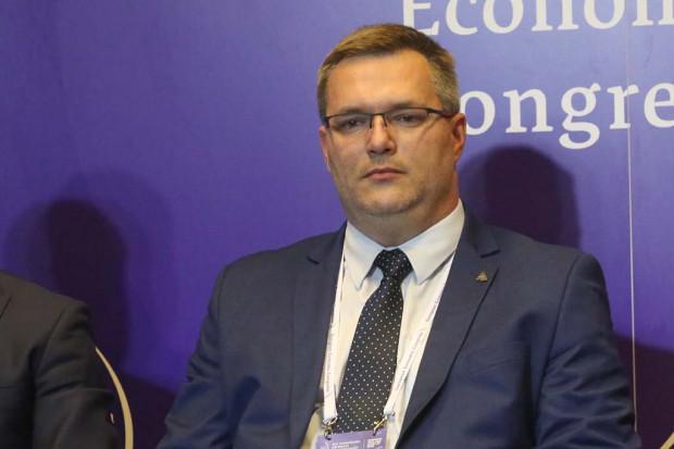 Łukasz Komoniewski, prezydent Będzina (fot. PTWP)