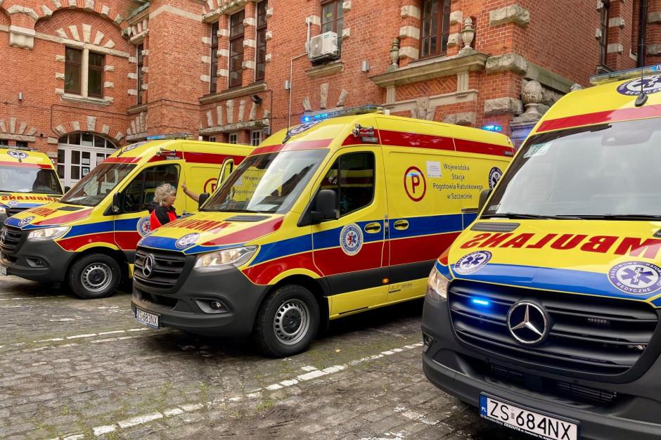 10 nowych ambulansów kupiła Wojewódzka Stacja Pogotowia Ratunkowego w Szczecinie