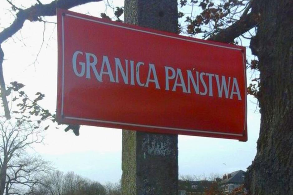 Polska buduje umocnienia na granicy z Białorusią