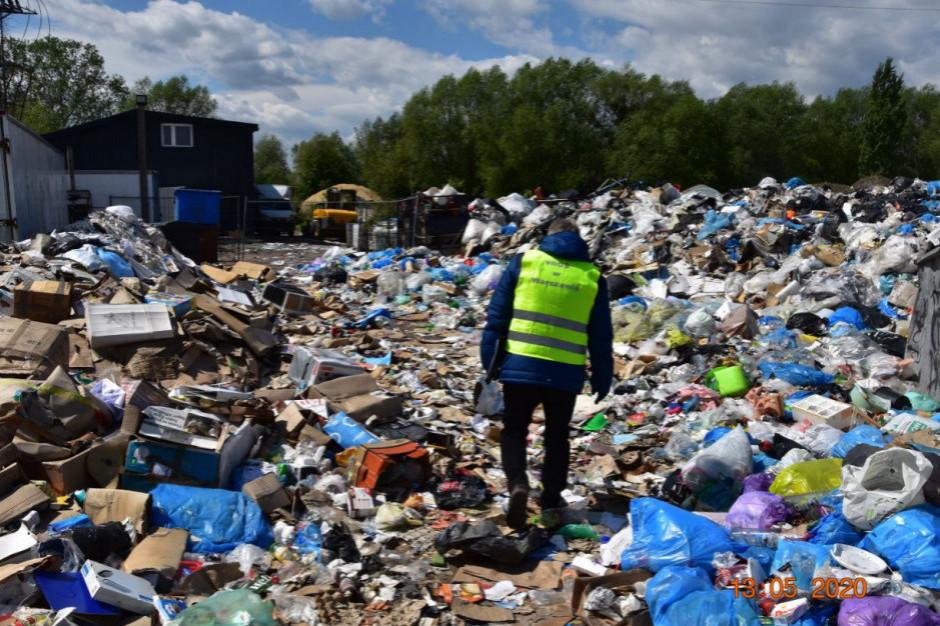 Policja i WIOŚ wspólnie przeciwko mafii śmieciowej