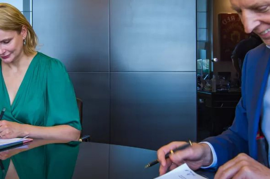 Pierwsza umowa w ramach Zielonego Funduszu dla Warszawy podpisana