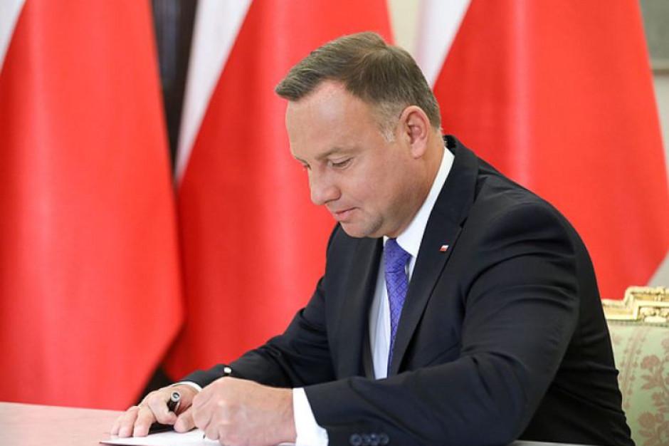 Rozporządzenie w sprawie przedłużenia stanu wyjątkowego z podpisem prezydenta