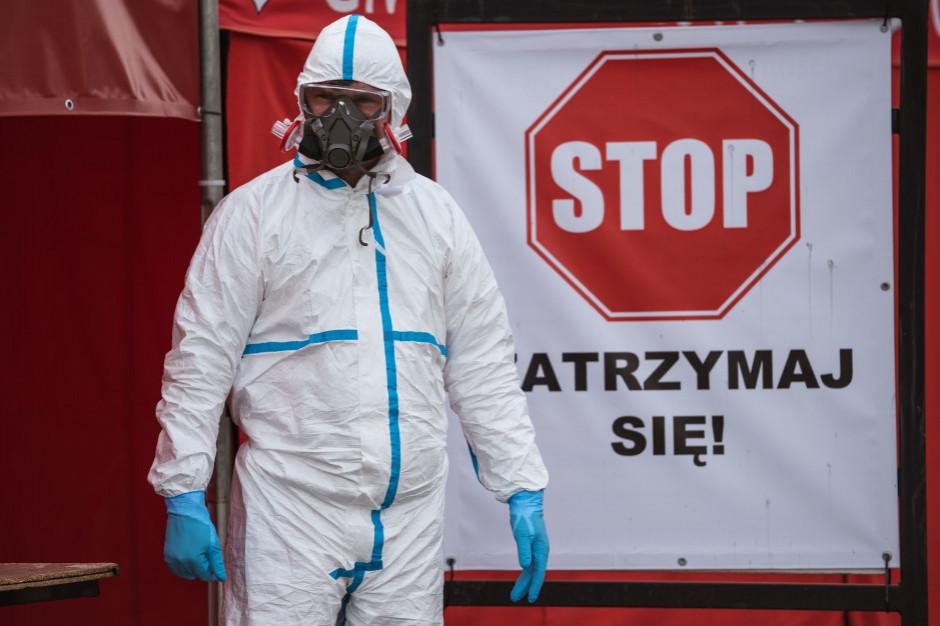 COVID-19: W szpitalach jest 1 840 zakażonych wirusem