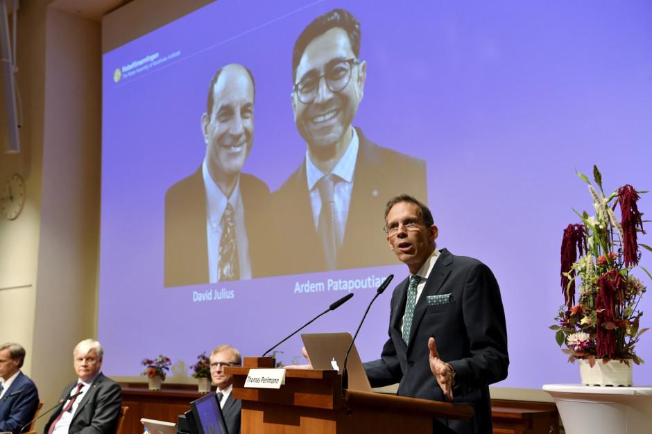 Nagrody Nobla 2021: Znamy laureatów z medycyny. To David Julius i Ardem Patapoutian