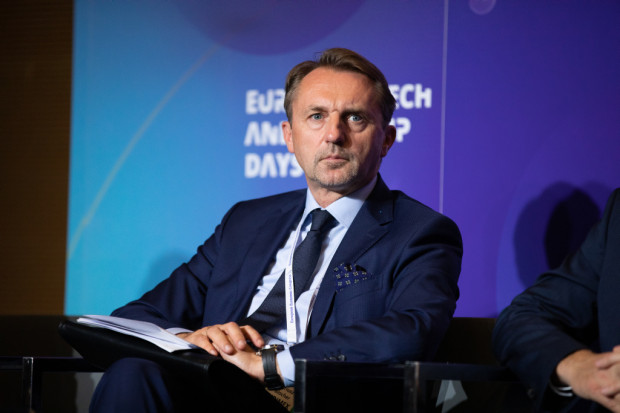 Dariusz Blocher, członek rady nadzorczej spółki Budimex (fot. PTWP)