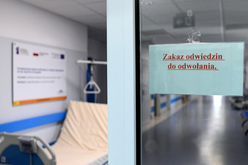Ministerstwo Zdrowia: w szpitalach jest 2141 chorych z COVID-19