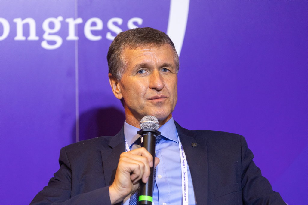 Stanisław Piechula, burmistrz Mikołowa (fot. PTWP)