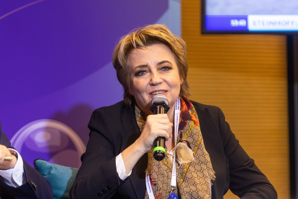 Hanna Zdanowska, prezydent Łodzi (fot. PTWP)