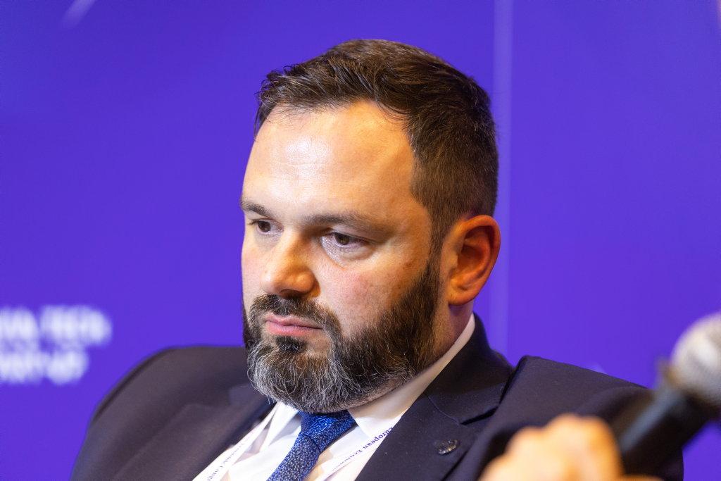 Kamil Wyszkowski, przedstawiciel United Nations Global Compact Network Poland (fot. PTWP)