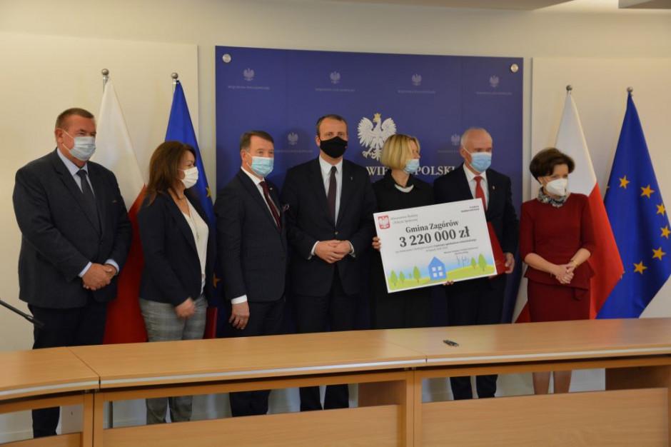 Wsparcie dla centrum opiekuńczo-mieszkalnego w gminie Zagórów