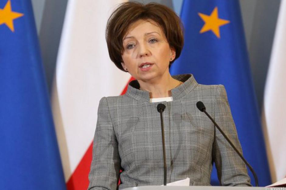 Minister Maląg złożyła życzenia nauczycielom i pracownikom oświaty