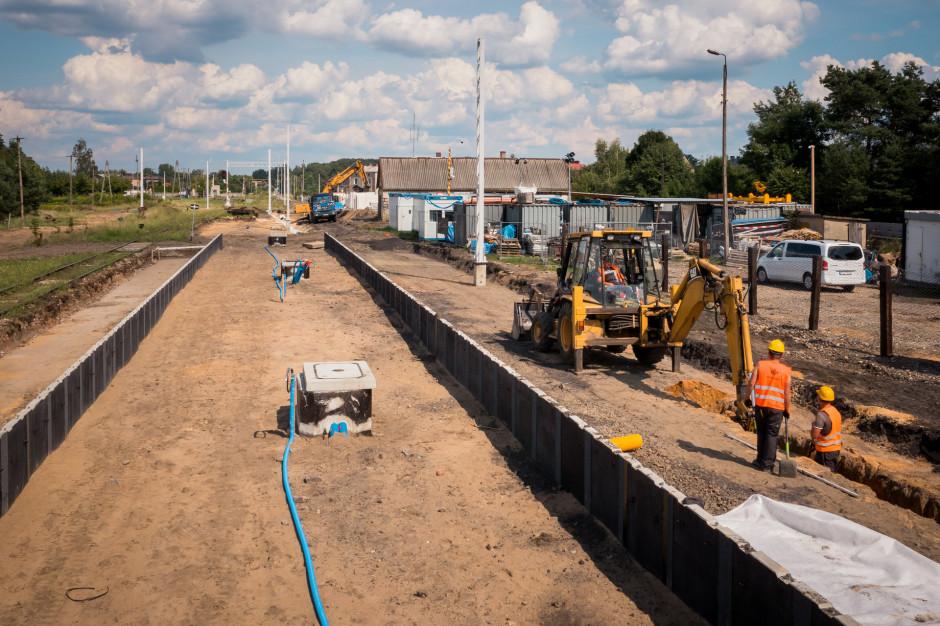 Obok katowickiego lotniska powstaje nowa stacja kolejowa
