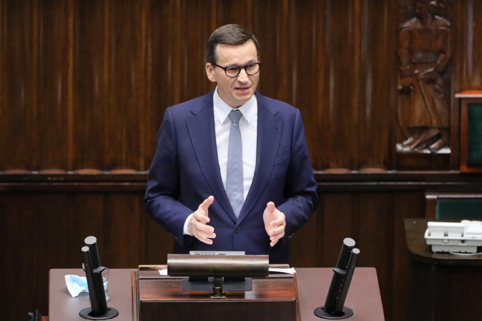 Mateusz Morawiecki: polexit to fake news i ordynarne kłamstwo